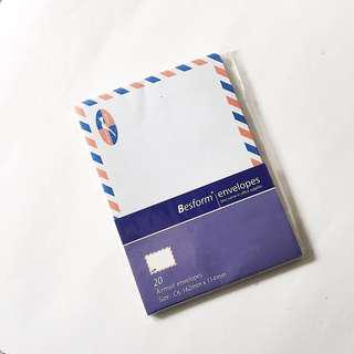 besform C6 air mail envelopes pack