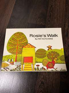 New Rosie's Walk by Pat Hutchins paperback