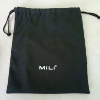 MILI* Nylon Drawstring Waterproof Pouch