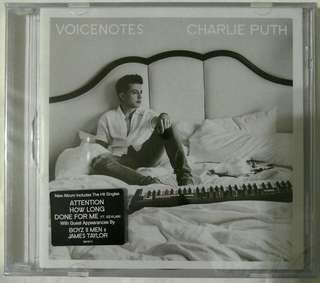 [Music Empire] Charlie Puth - Voicenotes CD Album