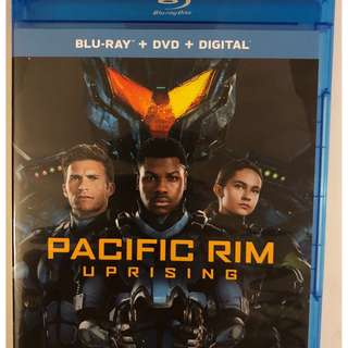 PACIFIC RIM UPRISING BLU RAY 1 DISC ONLY FREE SHIPPING