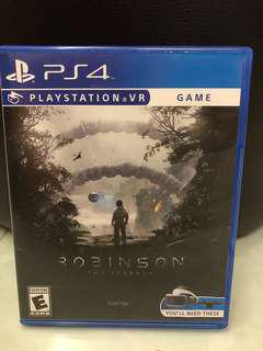 PS4 VR Robison The Journey