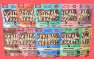 Primal Freeze Dried Dog's & Cat's 14oz-4bags or 16bags Promotion