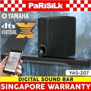 Yamaha YAS-207 Digital Sound Bar - Singapore Warranty