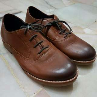 Zara Boys Leather Shoes