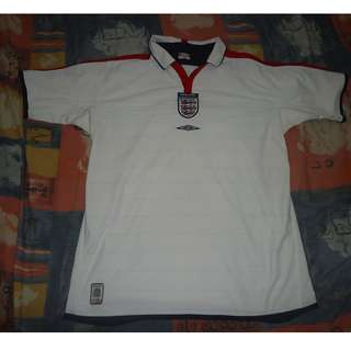 England World Cup Football Soccer Jersey