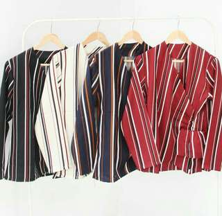 Jani stripes top
