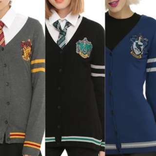 <Closed>Limited Preorder Harry Potter House Sweater Cardigan