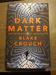Dark matter science fiction book