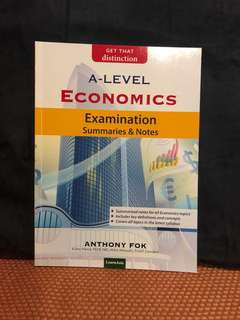 Economics examination and summaries