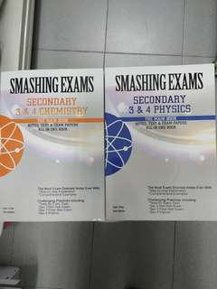 Smashing Exams Science Books for Secondary