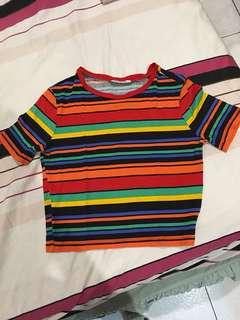 zara colorful stripe