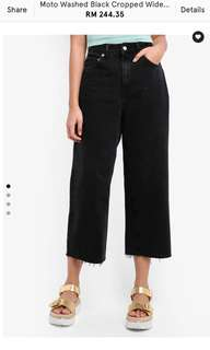 LOOKING FOR TOPSHOP CROPPED WIDE LEG JEANS