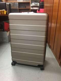 無印良品(muji)聚酯纖維行李箱連滑輪固定器(104L)