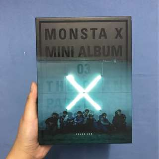 MONSTA X'S THE CLAN PT. 1 <FOUND VER> (free shipping)