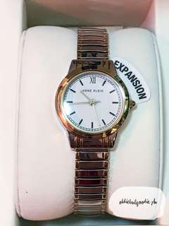 Brand New & Authentic Anne Klein Women's Two Tone Expansion Band Watch