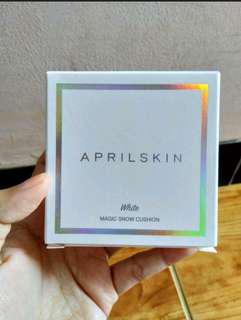 April Skin Magic Snow Cushion White 2.0 ORIGINAL