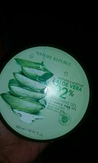 Nature republic Aloevera 10000% Original! Murah!
