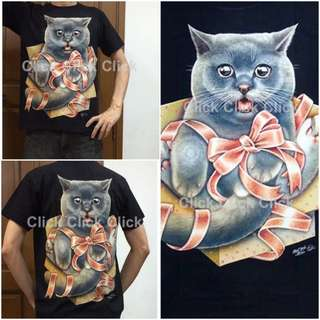 Cat Glow in the Dark Tshirt