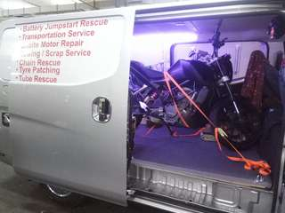 Islandwide Towing / Onsite bike rescue / mobile mechanic / ktm duke 200