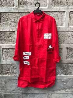 Imported Shirt Dress