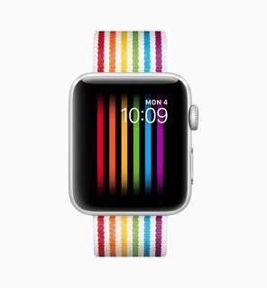 42mm Pride Edition Woven Nylon - Apple Watch band