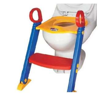 🔥HOT DEAL🔥Children Kids Toddler Toilet Trainer Training Removable Potty Seat with Ladder