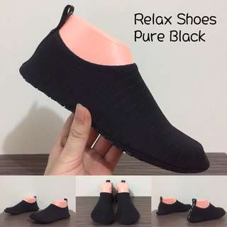Relax Shoes Pure Black