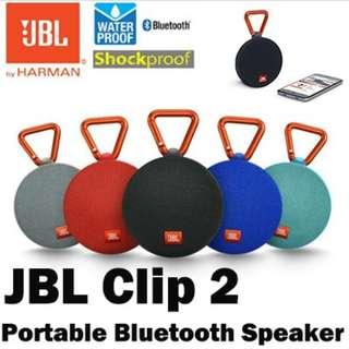 JBL Clip 2 Waterproof Ultra-Portable Bluetooth Speaker