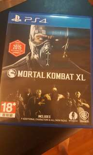 Mortal Combat PS4 game