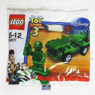 [Unicque] Lego 30071 Toy Story polybag - Army Jeep