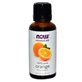 🚚 Orange Essential Oils 1 fl oz 30 ml  NOW