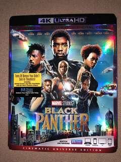 Black Panther 4K Ultra HD + Blu-Ray + Digital Code