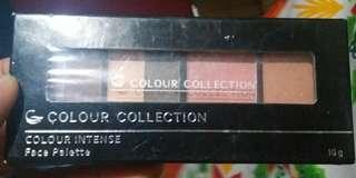 Colour collection face palette