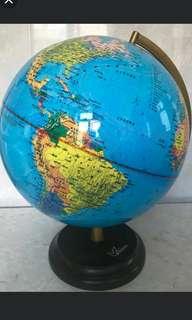 簡體中文地球儀
