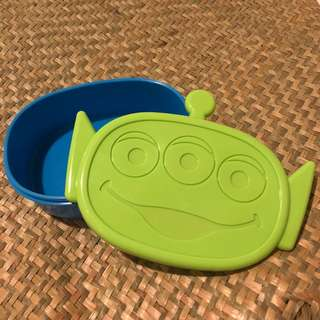 Toy story little green man lunch box container