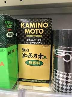 Kaminomoto hair tonic from japan