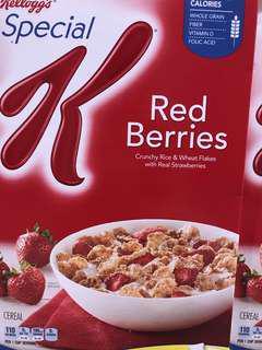 🚚 Kelloggs  special k 草莓早餐脆片