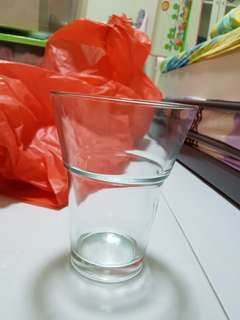 Glass vase