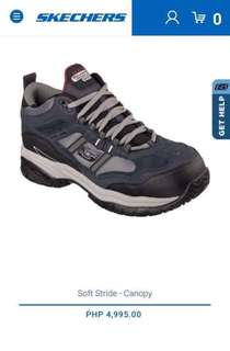 Skechers Canopy Relaxed Feet  Memory Foam -Slip Resistant Safety Shoes