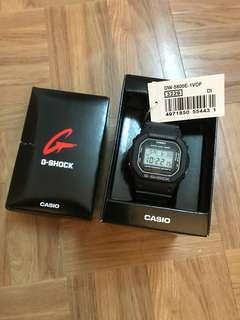 G-shock手錶 DW-5600E-1VDF 3229