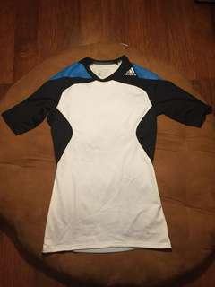 Original Adidas Techfit Power Short Sleeves
