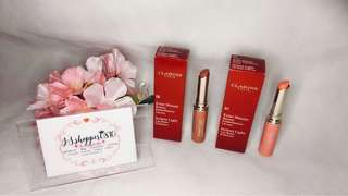 (NEW) - Clarins Instant Light Lip Balm Perfector (01-Rose) / (06-Rosewood)