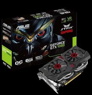 Asus GTX 1060 6GB Strix Gaming OC DirectCuda II