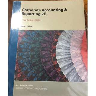 ACC3601 Textbook - Corporate Accounting and Reporting