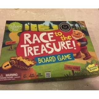 Race to the Treasure board game