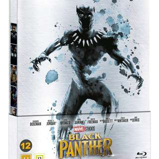 Black Panther Limited Edition Steelbook 1-Disc 2D Blu Ray REGION FREE BLU RAY PRE ORDER
