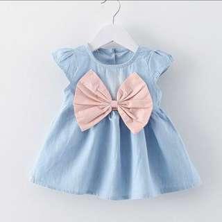 PO~ Cute ribbon dress