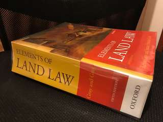 Elements of Land Law Gray and Gray Fifth Edition