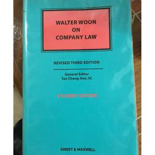 ACC3604 Company Law Textbook